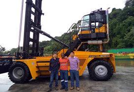 Manipulador de Contenedores Vacíos de Sany en Panamá