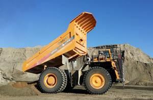 17 شاحنة التعدين ساني تستخدم في مناجم الفوسفات في التونس