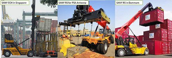 Équipements SANY servent les terminaux PSA à travers le monde