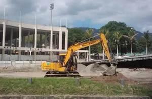 حفارات ساني شاركت في تشييد الألعاب الاولمبية ريو عام 2016