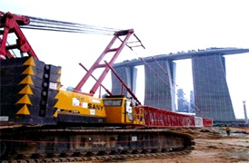 Proyek MCE483 Terowongan Jalan Tol di Singapura