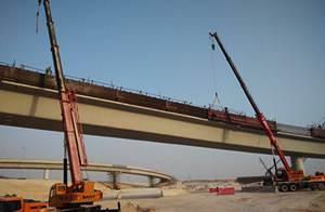 رافعات ساني شاركت في بناء ممرات عالية السرعة في شرق قطر