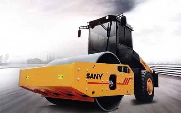 SANY lance des rouleaux compresseurs hydrauliques mono-tambour de 20 tonnes, de 22 tonnes
