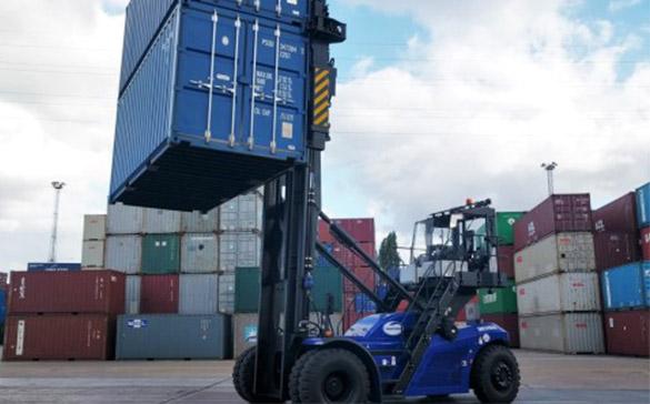 Maritime a pris l'quipement SANY pour renforcer sa capacité de manutention