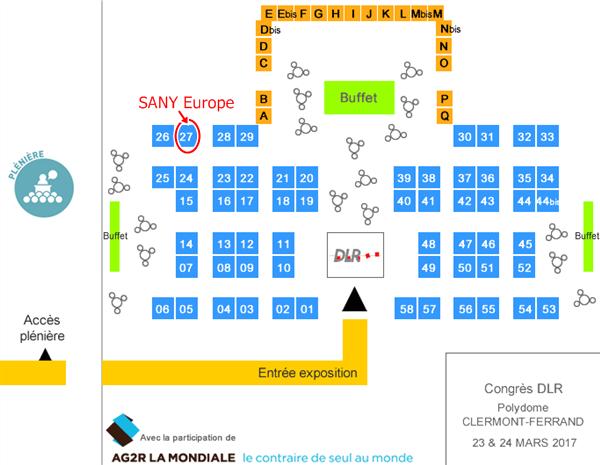 SANY Europe se présentera au congrès DLR