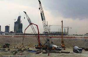 معدات ساني شاركت في بناء مدينة جديدة لوسيل في قطر
