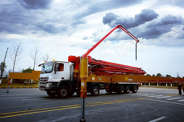 SANY construira le stade pour la Coupe du Monde 2022 en fournissant des matériels à AL MAYSAN