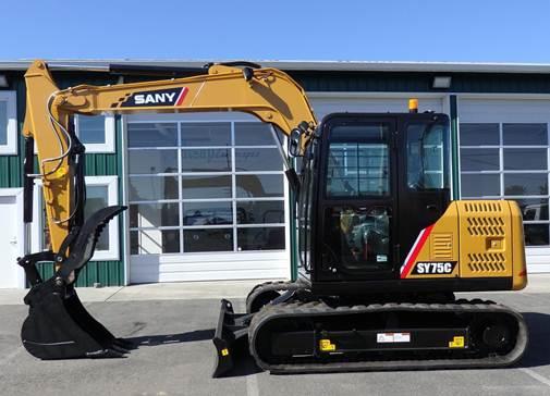 Penjualan Terbaik SY75C Excavator SANY