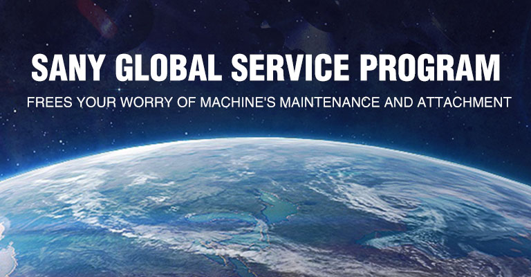 SANY Service Network