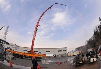 Sany 62m Concrete Pump Supports Fukushima Nuclear Power Plant