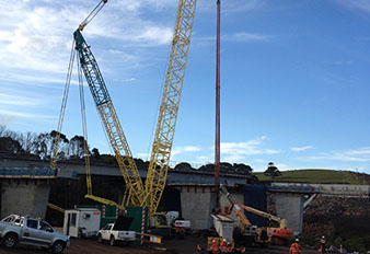 SANY crawler crane SCC4000 in Brisbane
