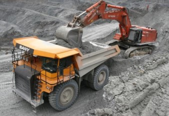 SANY SRT55C works at Yunnan Hualian Zinc & Indium Mine