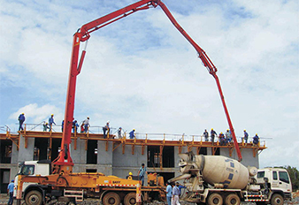 SANY Truck Mounted Concrete Pump Takes Part in the Construction of ian National Library