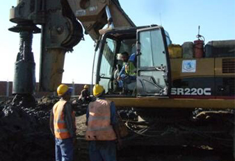 SANY Rotary Drilling Rigs Supports the Construction of the Port Said in Egypt