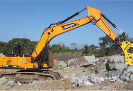 SANY excavators used in largest water dam in Nigeria, Zungeru Water Dam
