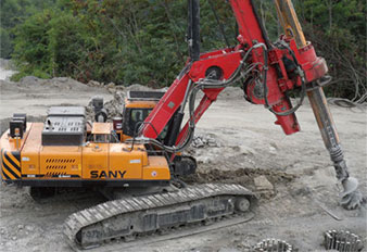 Sany Rotary Drilling Rigs Used in Russian Sochi Olympics Construction