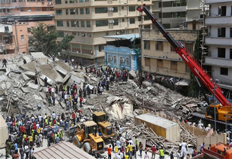 Sany Mobile Crane Takes Part in Tanzanian Building Collapse Rescue