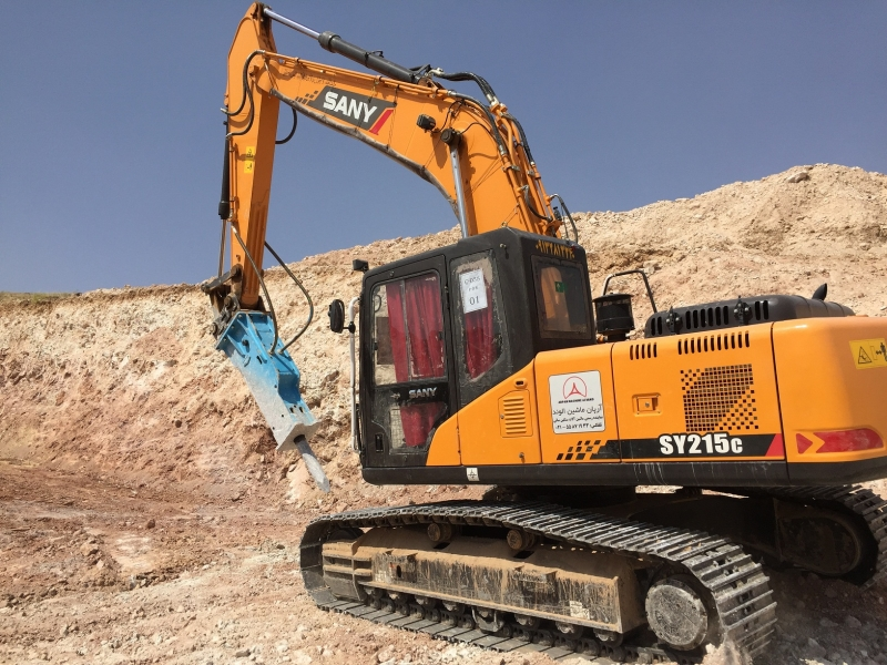 SANY SY215C Excavators Construction Projects