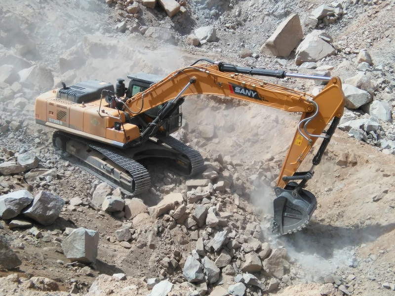 SANY SY365H 36 Ton Mining Excavators Construction Projects