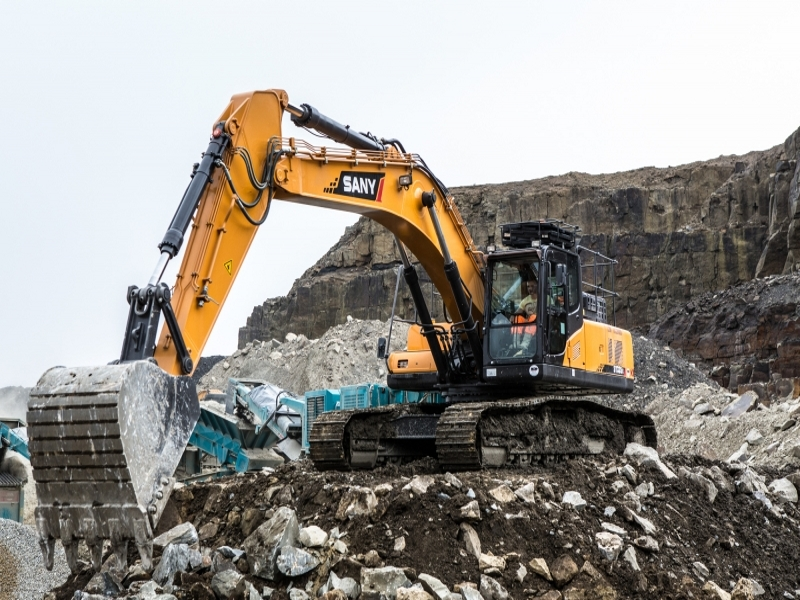 SANY SY245H 25 Ton Excavators Construction Projects