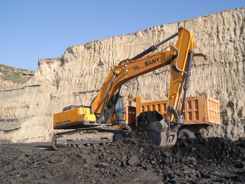 SANY SY500H 50 Ton Mining Excavators Construction Projects
