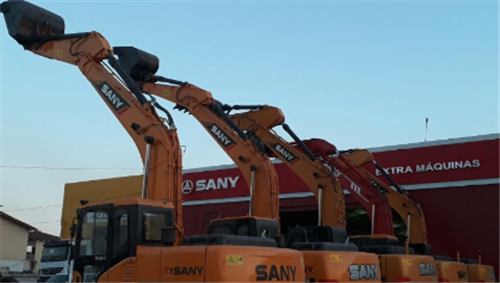 SANY large excavators are well-received in Brazil market
