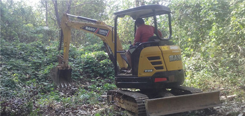 Indian customer increases profitability by using SANY mini excavator