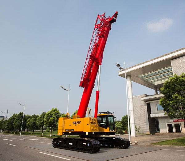 Come to find features of SANY's first telescopic crawler crane SCC550TB