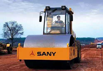 SANY road rollers help you build great roads