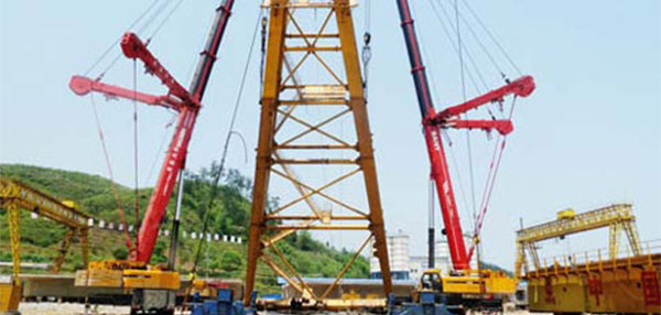 SANY MOBILE CRANES COORDINATE PERFECTLY.jpg