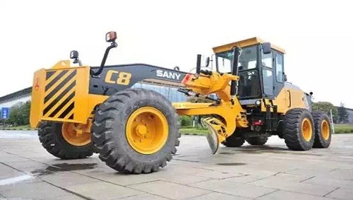 SANY LAUNCHES C8 SERIES MOTOR GRADER WITH High EFFICIENCY AND LOW CONSUMPTION In March, SANY launched C8 series motor grader, which combines with the advantages of the former generations and will create the maximum benefits for the customers.