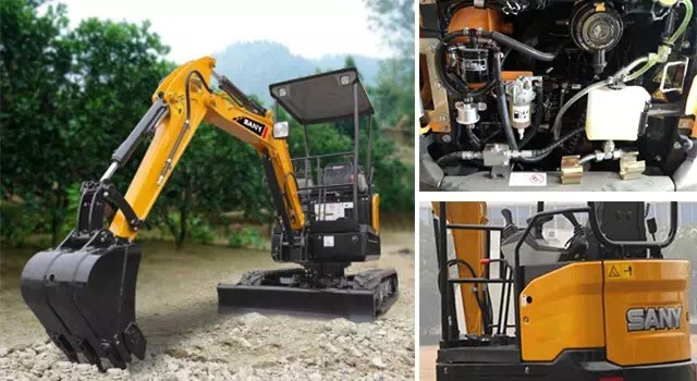 SANY MINI EXCAVATORS MAKE THE DIFFERENCE - Sany Group