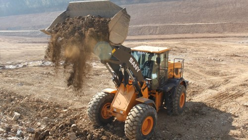 SANY SYL956H5 wheel loader: built for maximum efficiency and reliability