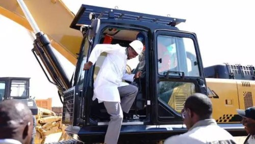 ZAMBIAN PRESIDENT SPOKE HIGHLY OF SANY EXCAVATORS
