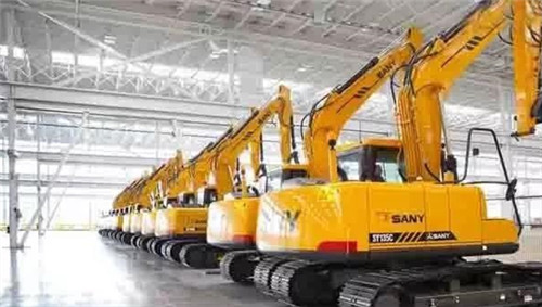 SANY excavator wins the domestic sales champion in the first three quarters
