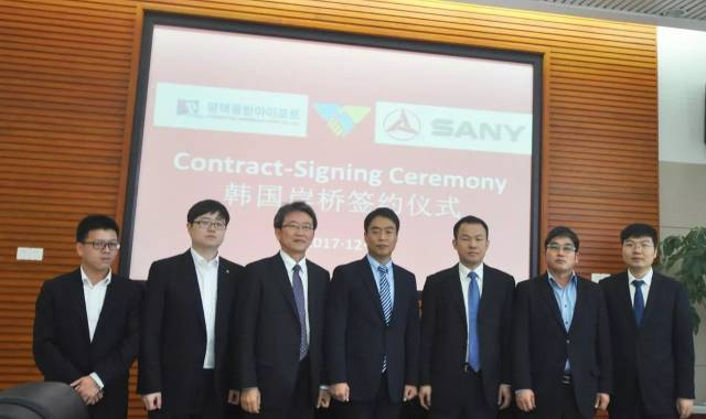SANY Gantry Quay Cranes Thrust into South Korean Market