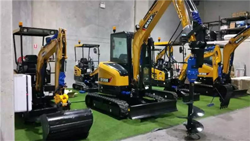 SANY is ready to expand mini excavator market share in Australia