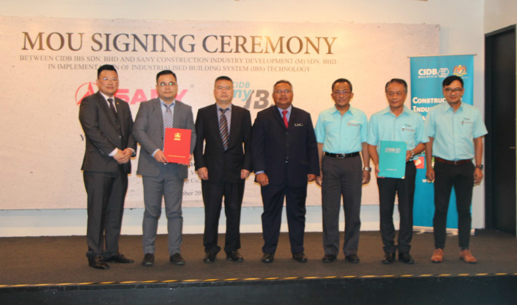 SANY partners CIDB to Promote Industrialized Building System Together in Malaysia