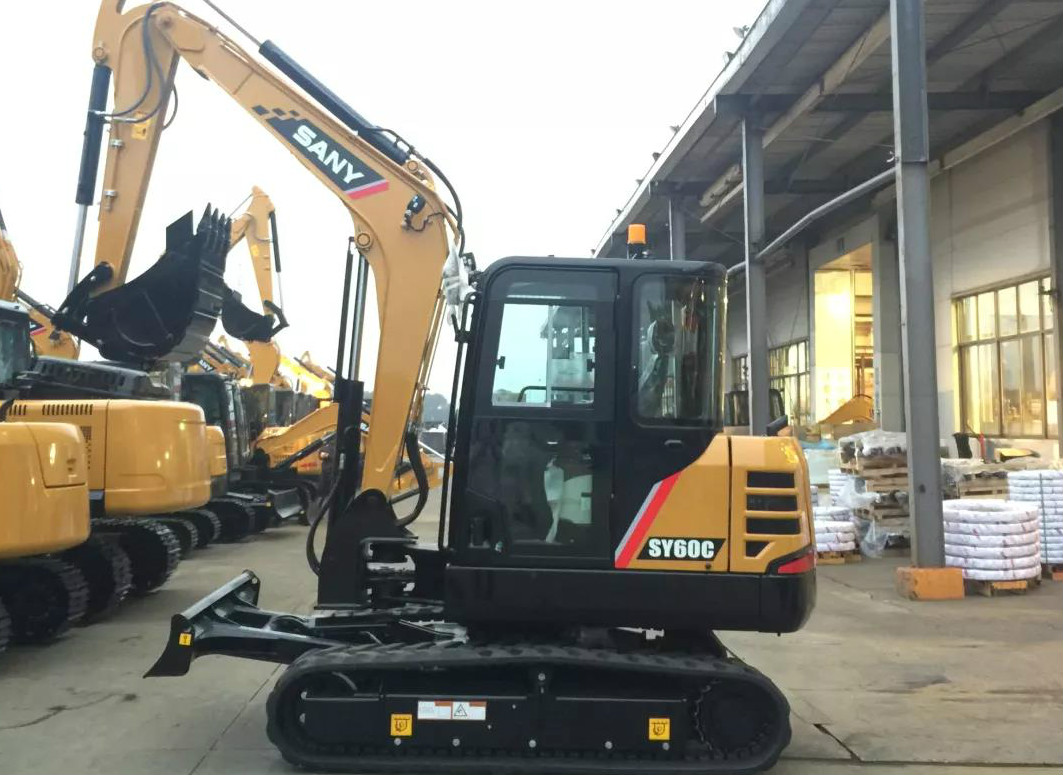 SANY excavator SY60C lands on American market