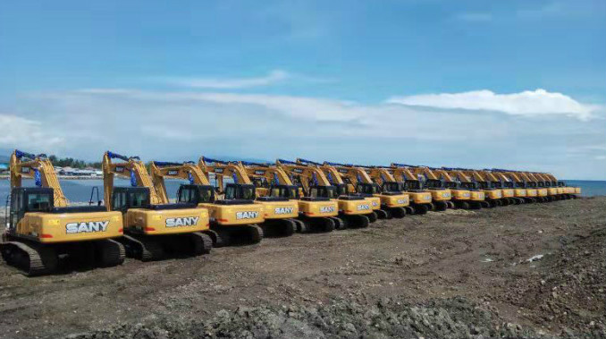 SANY provides one-stop solution to mining projects
