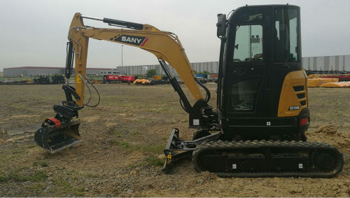 6 points you can't miss about SANY SY35U excavator