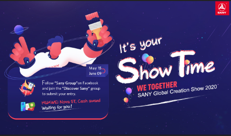 """We Together"" SANY Global Creation Show 2020 Officially Begins Today! ""We Together"" SANY Global Creation Show 2020 Officially Begins Today!<br />