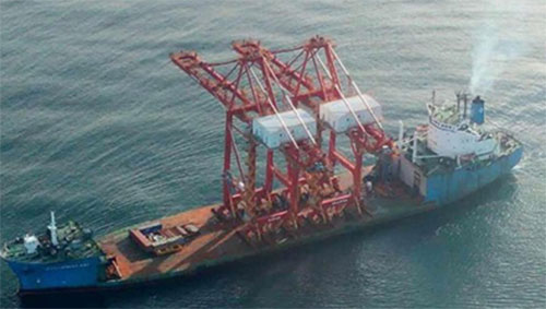 SANY STS Container Cranes Successfully Delivered to Costa Rica