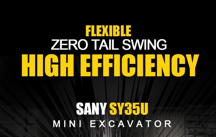 SY35U: flexible zero tail swing and high efficiency