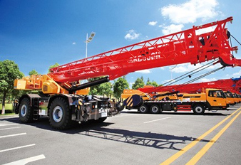 SANY Heavy Cranes Best in Overseas Sales
