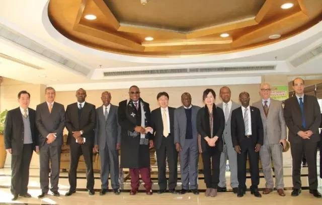 Ambassadors from Eleven African Nations Visit China and Celebrate