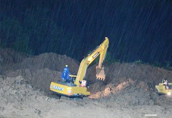 Sany Excavators Support Landslide Disaster Rescue in India