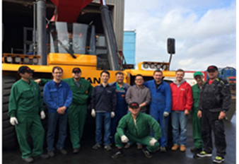 Sany Russia Port Machinery Service Training