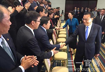 Chinese Premier Li Keqiang Talked with Sany's President Xiang during His visiting in Brazil