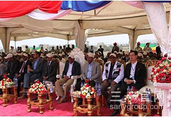Ethiopian Prime Minister launched SANY Wind Turbine Generator in ADAM Ⅱ
